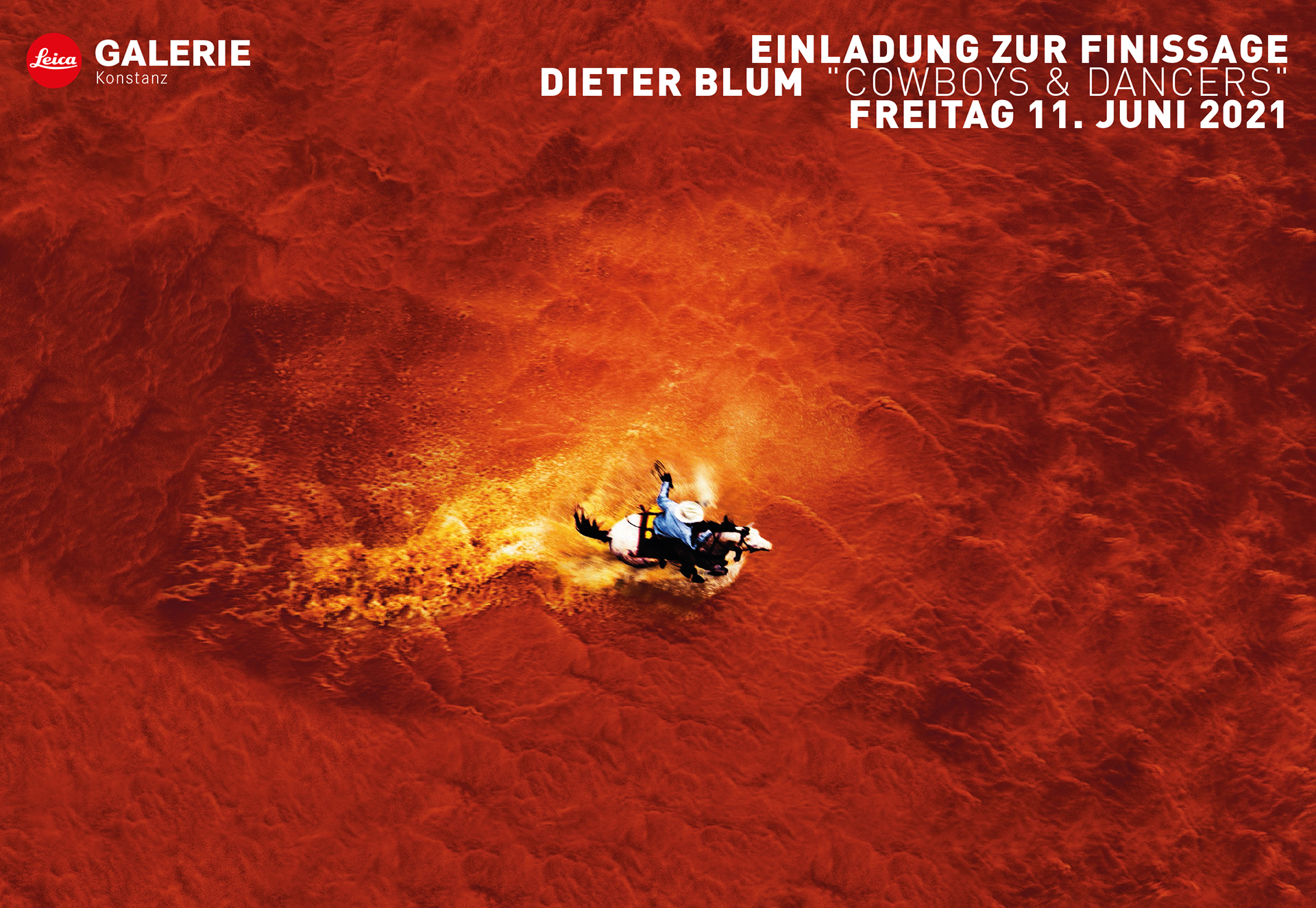 "Finissage Dieter Blum  ""Cowboys & Dancers"""